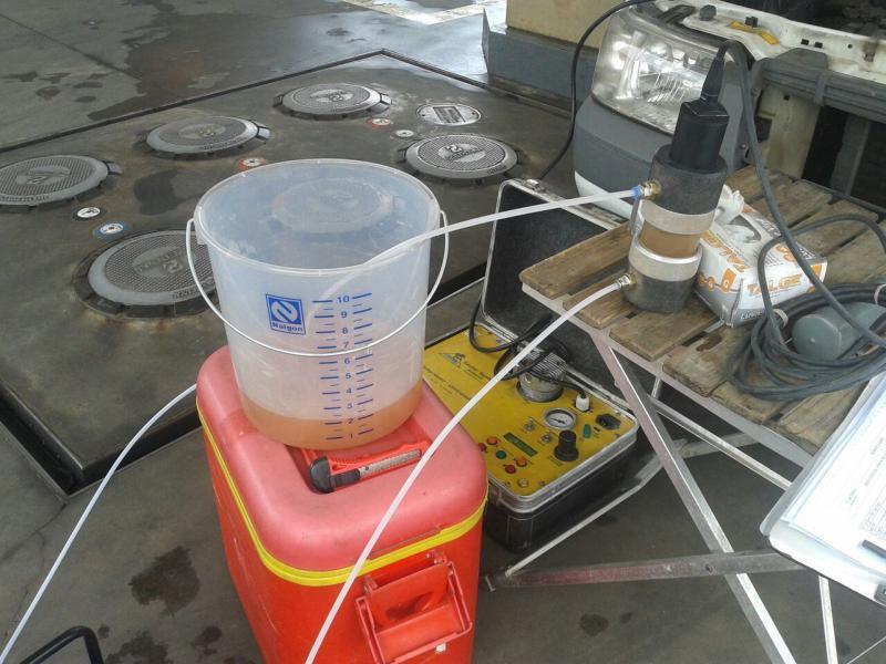 Investigação de passivo ambiental em postos de combustíveis