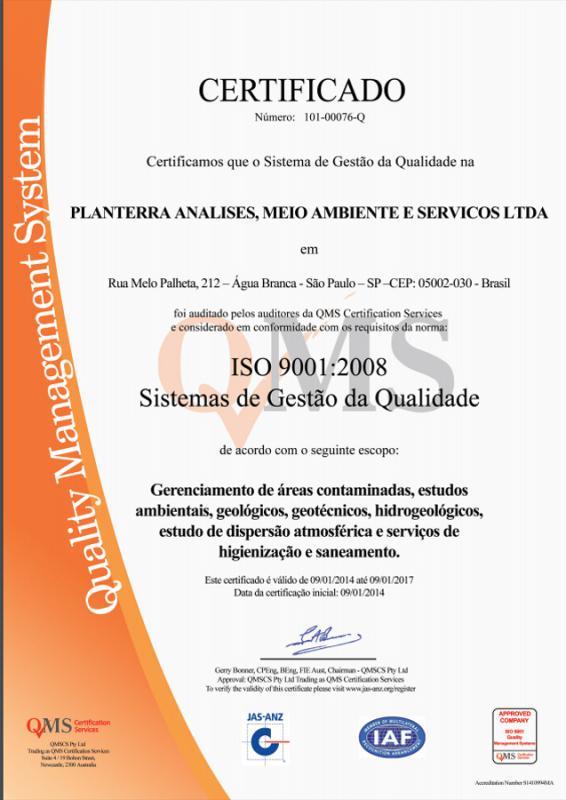 ABNT NBR ISO 9001